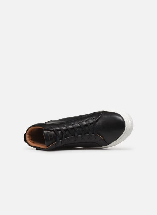 Trainers Schmoove Spark Mid Shine Black view from the left