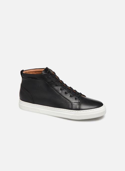 Sneakers Schmoove Spark Mid Shine Sort detaljeret billede af skoene