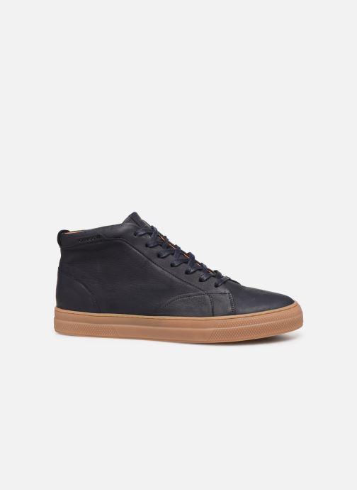 Sneakers Schmoove Spark Mid Nubuck Blå se bagfra