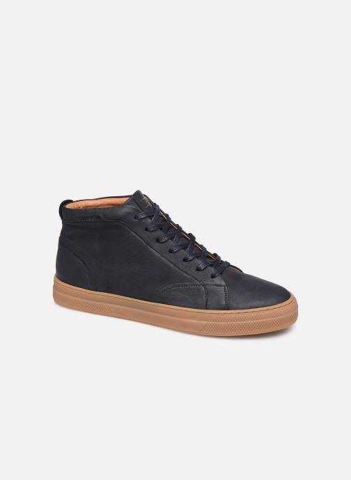 Sneakers Schmoove Spark Mid Nubuck Blå detaljeret billede af skoene
