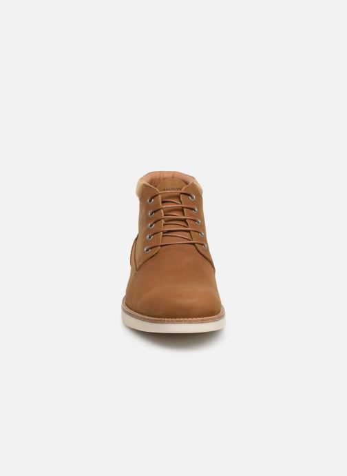 Bottines et boots Schmoove Break Mid Nubuck Marron vue portées chaussures