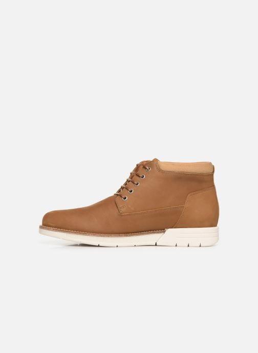 Bottines et boots Schmoove Break Mid Nubuck Marron vue face