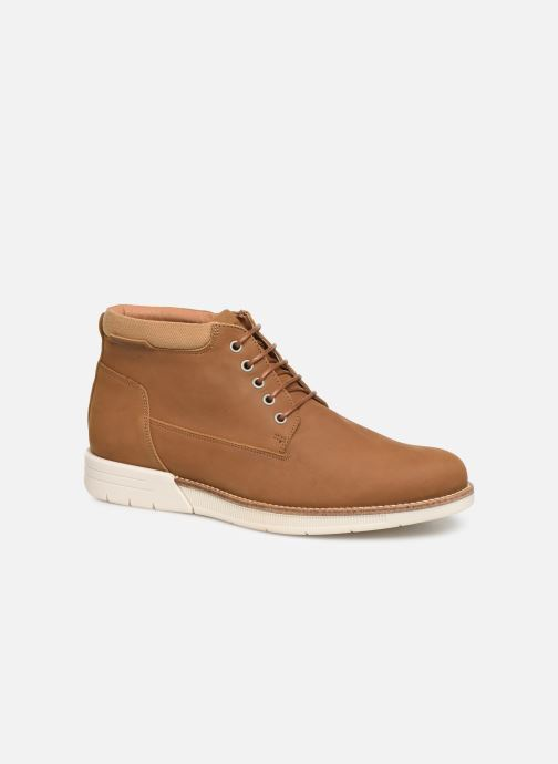 Bottines et boots Schmoove Break Mid Nubuck Marron vue détail/paire