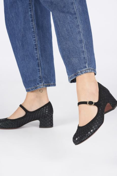 Zapatos de tacón Chie Mihara Urba Azul vista de abajo