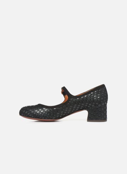 Zapatos de tacón Chie Mihara Urba Azul vista de frente