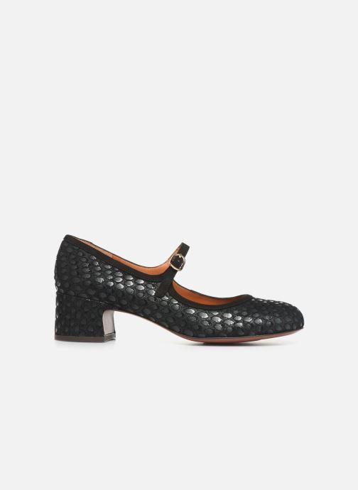 Zapatos de tacón Chie Mihara Urba Azul vistra trasera