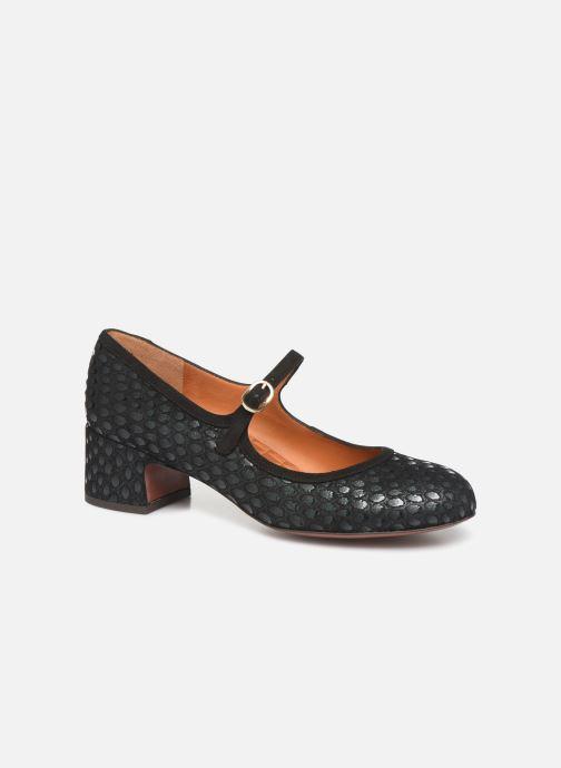 Høje hæle Chie Mihara Urba Blå detaljeret billede af skoene