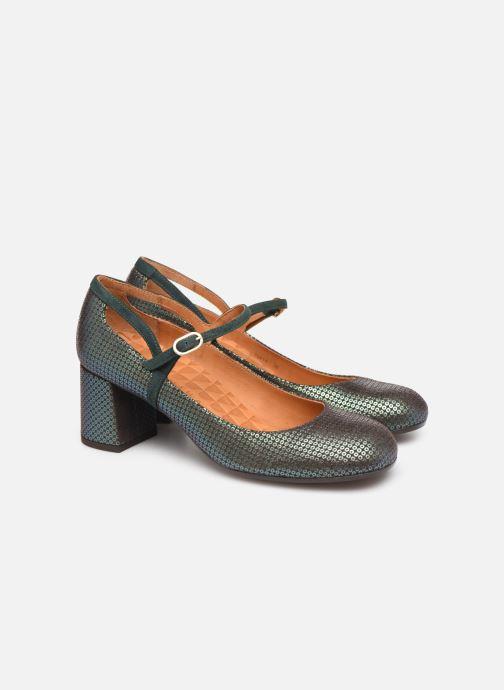 Zapatos de tacón Chie Mihara Popy Verde vista 3/4