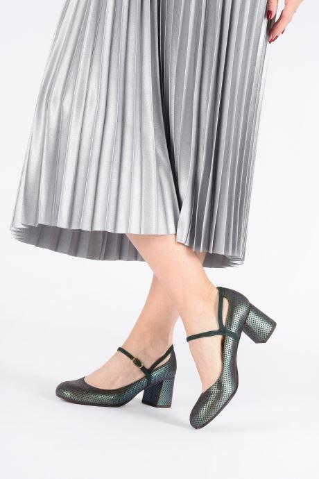 Zapatos de tacón Chie Mihara Popy Verde vista de abajo