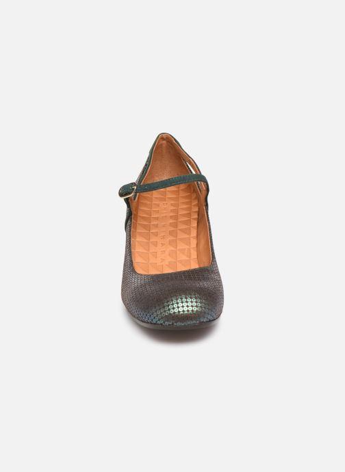 Escarpins Chie Mihara Popy Vert vue portées chaussures