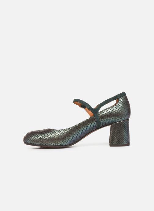 Zapatos de tacón Chie Mihara Popy Verde vista de frente