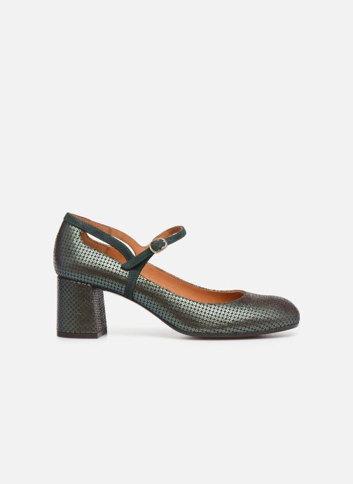 Zapatos de tacón Chie Mihara Popy Verde vistra trasera