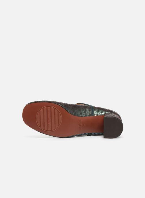 Zapatos de tacón Chie Mihara Popy Verde vista de arriba