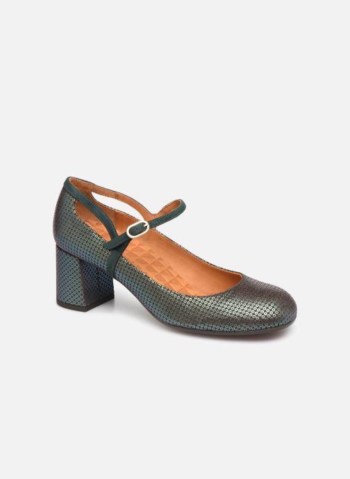 Zapatos de tacón Chie Mihara Popy Verde vista de detalle / par