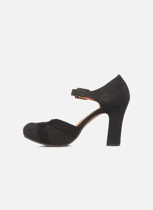 Zapatos de tacón Chie Mihara Dara Negro vista de frente