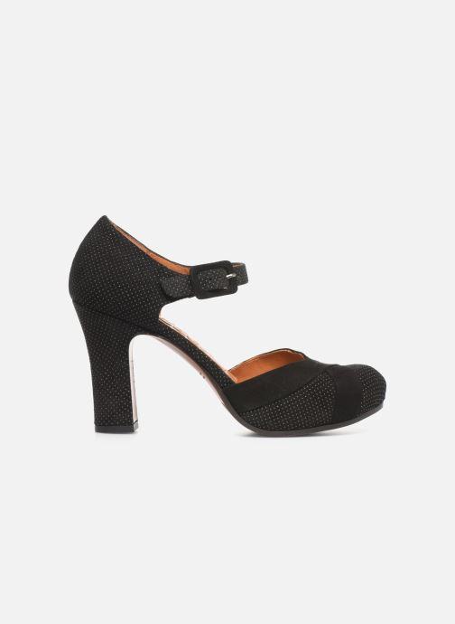Zapatos de tacón Chie Mihara Dara Negro vistra trasera
