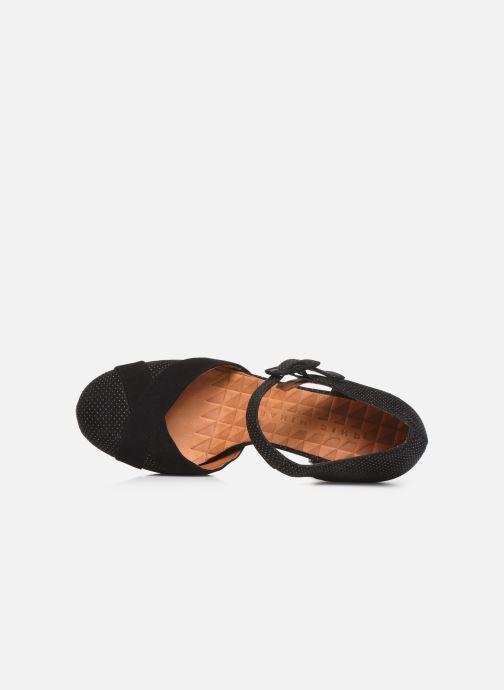 Zapatos de tacón Chie Mihara Dara Negro vista lateral izquierda