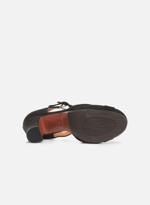 Zapatos de tacón Chie Mihara Dara Negro vista de arriba
