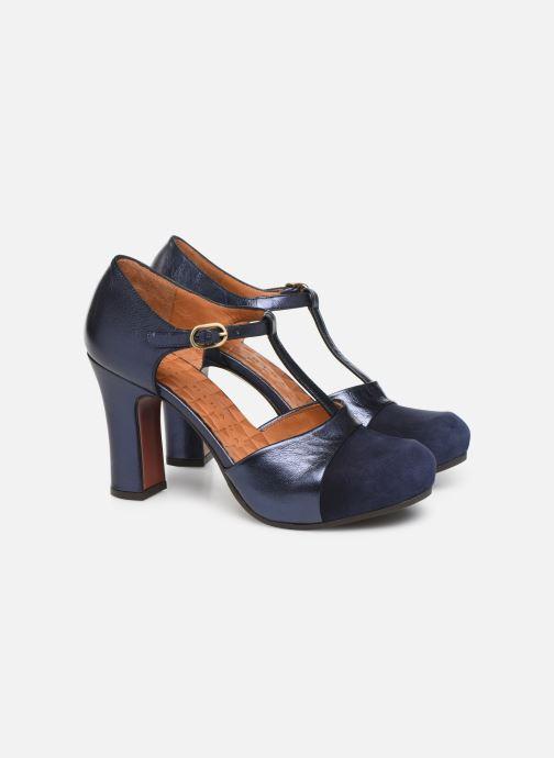 Zapatos de tacón Chie Mihara Darla Azul vista 3/4