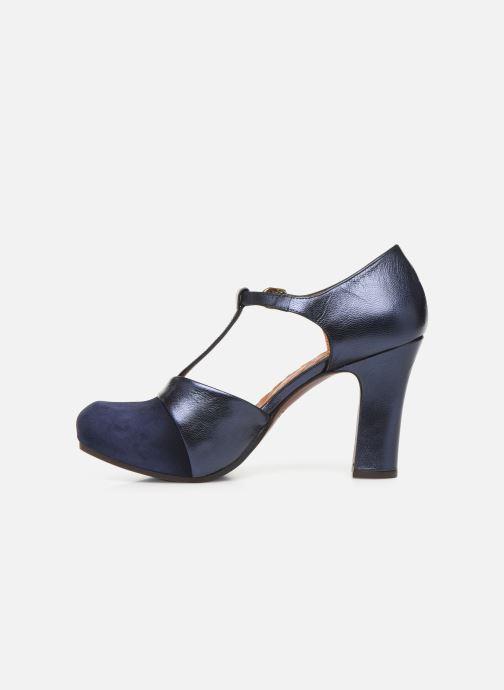 Zapatos de tacón Chie Mihara Darla Azul vista de frente