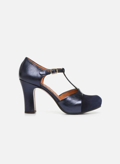 Zapatos de tacón Chie Mihara Darla Azul vistra trasera