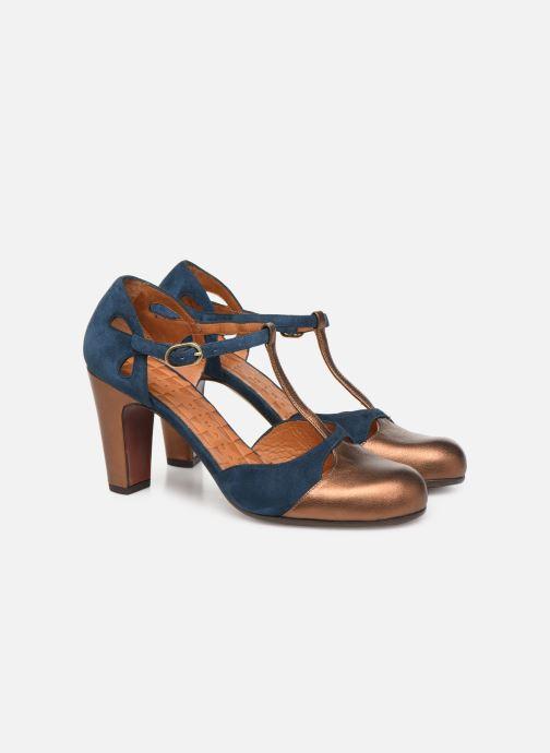 Zapatos de tacón Chie Mihara Kuna Oro y bronce vista 3/4