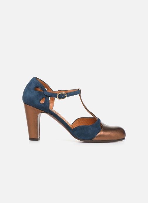 Zapatos de tacón Chie Mihara Kuna Oro y bronce vistra trasera