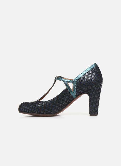 Zapatos de tacón Chie Mihara Krom Azul vista de frente