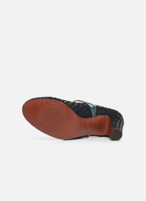 Zapatos de tacón Chie Mihara Krom Azul vista de arriba