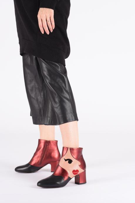 Bottines et boots Chie Mihara Nala35 Multicolore vue bas / vue portée sac