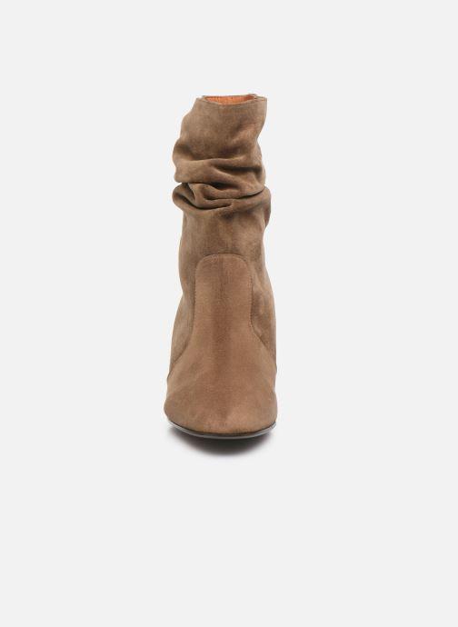 Bottines et boots Chie Mihara NA Edil 35 Marron vue portées chaussures