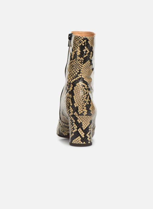 Bottines et boots Chie Mihara NA Naylon35 Beige vue droite