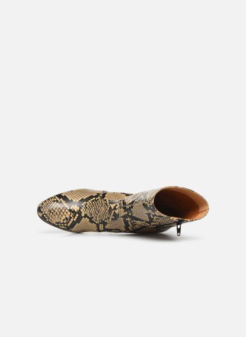 Bottines et boots Chie Mihara NA Naylon35 Beige vue gauche