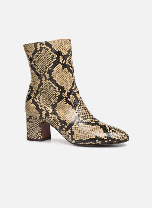 Bottines et boots Chie Mihara NA Naylon35 Beige vue détail/paire