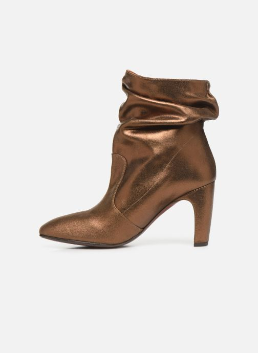 Ankle boots Chie Mihara Evil Bronze and Gold front view
