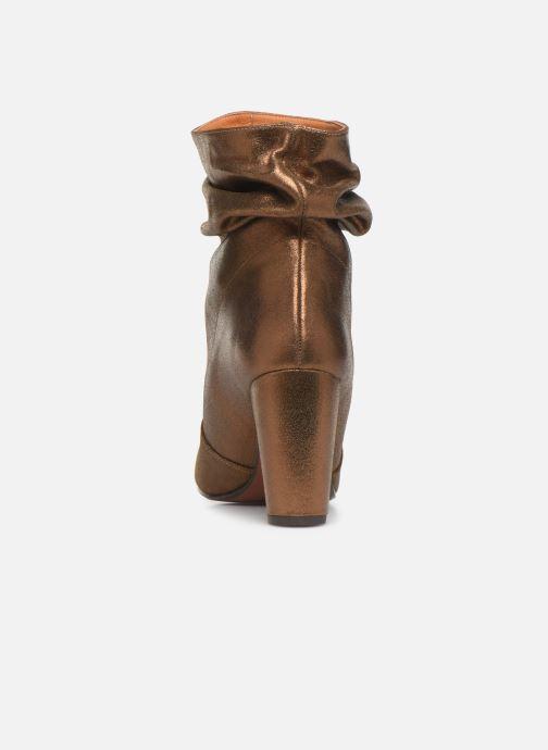 Bottines et boots Chie Mihara Evil Or et bronze vue droite