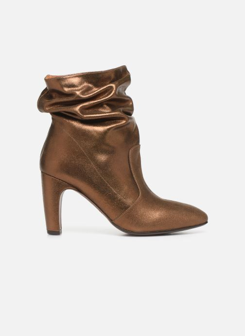 Ankle boots Chie Mihara Evil Bronze and Gold back view