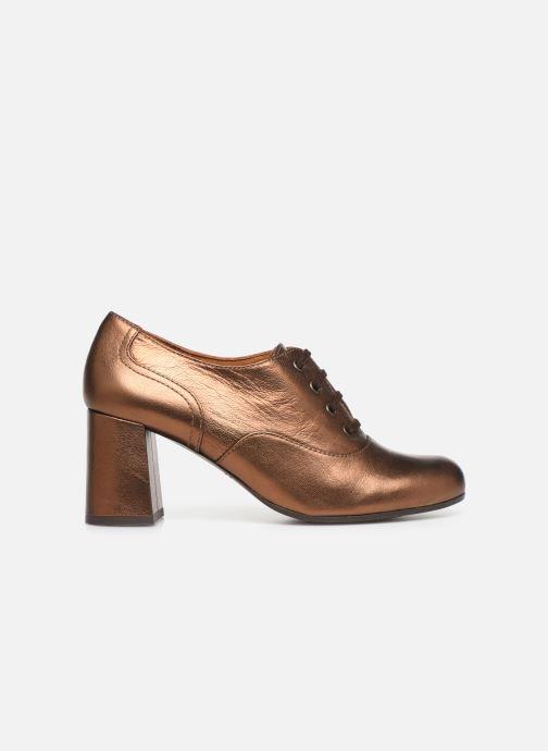 Zapatos con cordones Chie Mihara Musai Oro y bronce vistra trasera