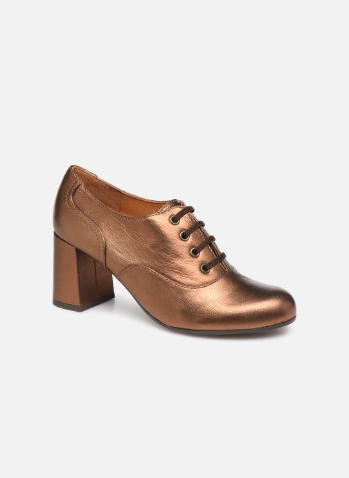Chaussures à lacets Chie Mihara Musai Or et bronze vue détail/paire