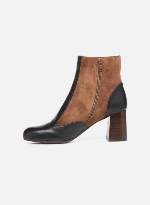 Bottines et boots Chie Mihara Monet Marron vue face