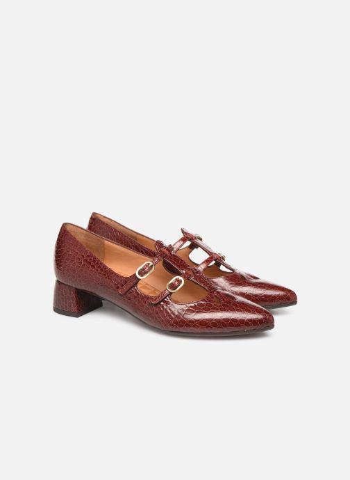 Zapatos de tacón Chie Mihara Ruta Rojo vista 3/4