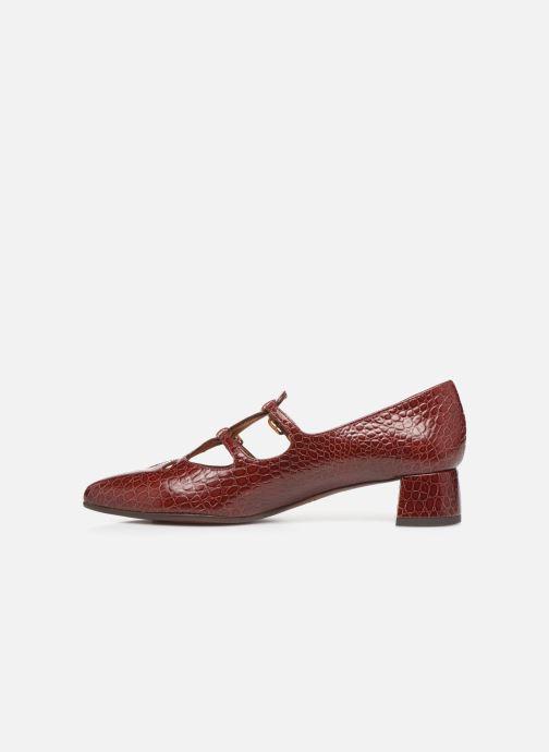 Zapatos de tacón Chie Mihara Ruta Rojo vista de frente