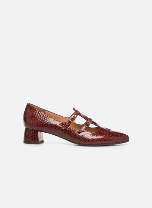 Zapatos de tacón Chie Mihara Ruta Rojo vistra trasera