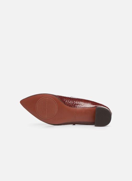 Zapatos de tacón Chie Mihara Ruta Rojo vista de arriba