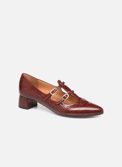 Høje hæle Chie Mihara Ruta Rød detaljeret billede af skoene