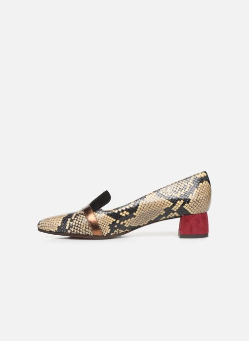 Loafers Chie Mihara Roz Beige front view