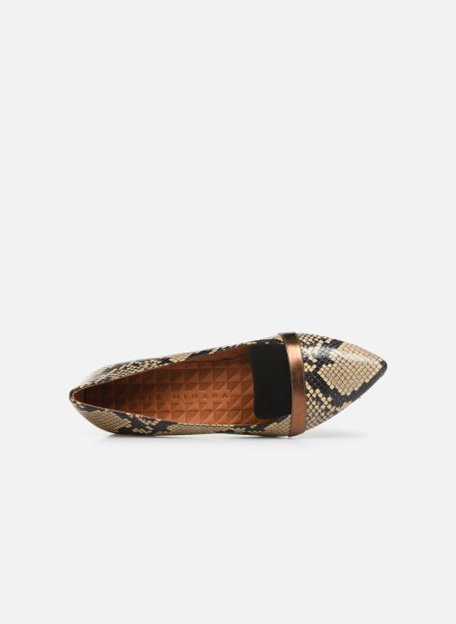 Loafers Chie Mihara Roz Beige view from the left