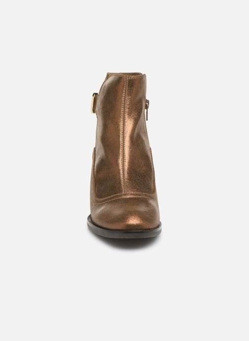 Bottines et boots Chie Mihara OR Omayo35 Or et bronze vue portées chaussures