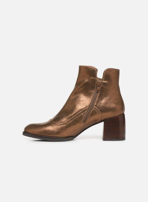 Ankle boots Chie Mihara OR Omayo35 Bronze and Gold front view