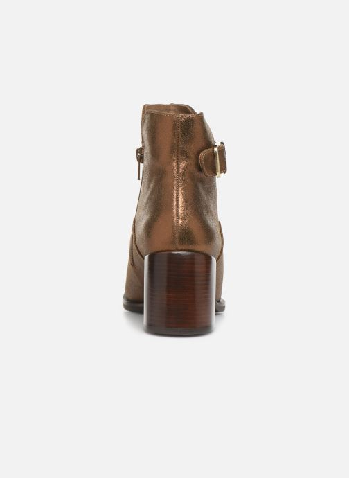 Ankle boots Chie Mihara OR Omayo35 Bronze and Gold view from the right